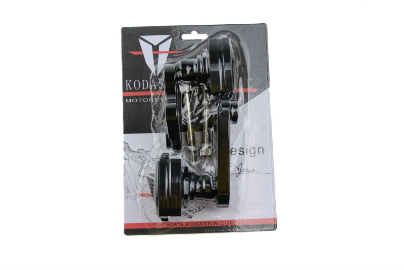 KODASKIN Motorcycle Carbon Crash Aluminum Engine Slider Frame Protector Falling Protection For KAWASAKI ZX-6R 636