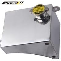 Coolant kettle 240SX SR20DET S13 KA24DE KA24DE KA24E Aluminum Fuel Tank Coolant Overflow Kit for Nissan