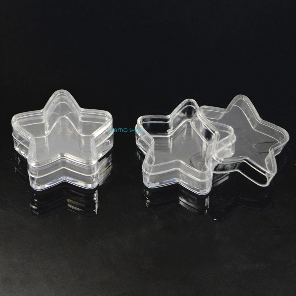 5pcs 5g Star Shape Sample Container Empty Travel Cosmetic Bottle Skin Care Lip Balms Pot Jar