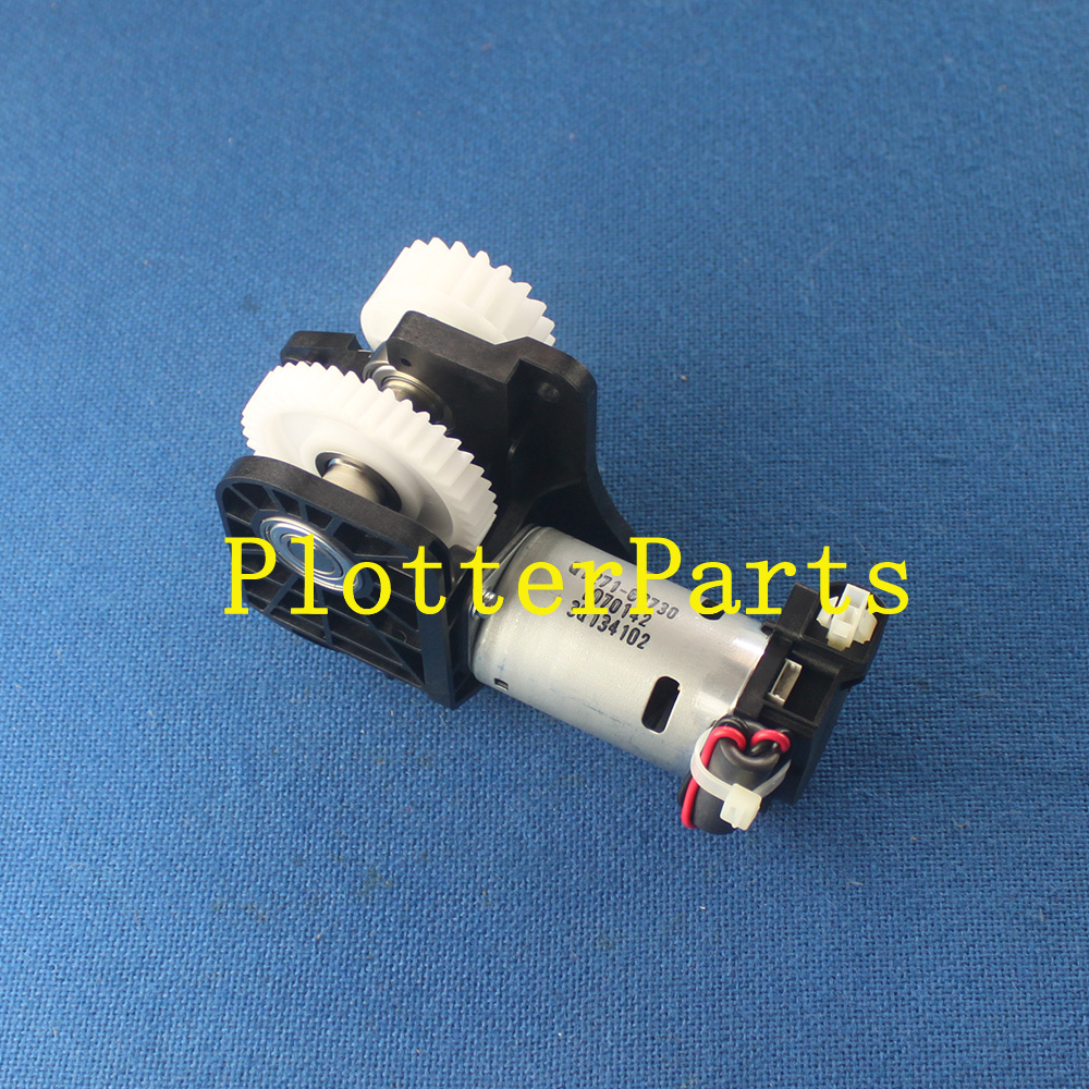 CQ105-67010 Multi-roll gear and motor assembly for HP DesignJet 7100 Printer Parts Original used