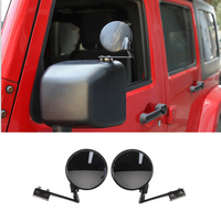 JXKaFa Fit For Jeep Wrangler 2007-2017 Car Blind Area Mirror Exterior Car Styling Accessories 2Pcs/set New Arrival