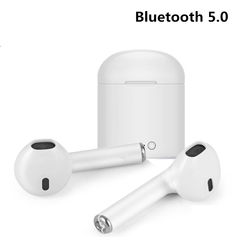 Earphones & Headphones Fashion I7 I7s Tws Bluetooth 5.0 Portable Universal Type Tws Wireless Earphones With Mic Mini Bluetooth Headsets For Phones