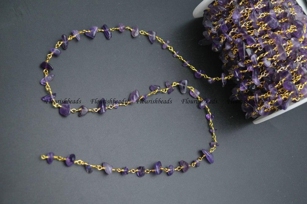 environ 91.44 cm 10 mm russe améthyste perles rondes gemme Collier 36 in