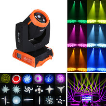 DMX512 230W Moving Head Suara Pesta Lampu Disco Light 14 Warna RGBW LED Mini Gobo Moving Head Spot Light klub DJ Lampu Panggung(China)