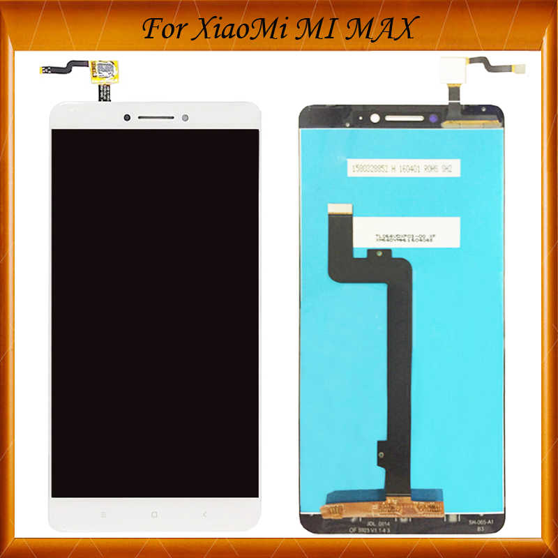 100% Working Well For Xiaomi Mi Max LCD Touch Screen Digitizer For Xiaomi Mi Max Display Screen Assembly Replacement Mi Max 1