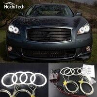 HochiTech Excellent CCFL Angel Eyes Kit Ultra Bright Headlight Illumination For Infiniti M Series Q70 2011