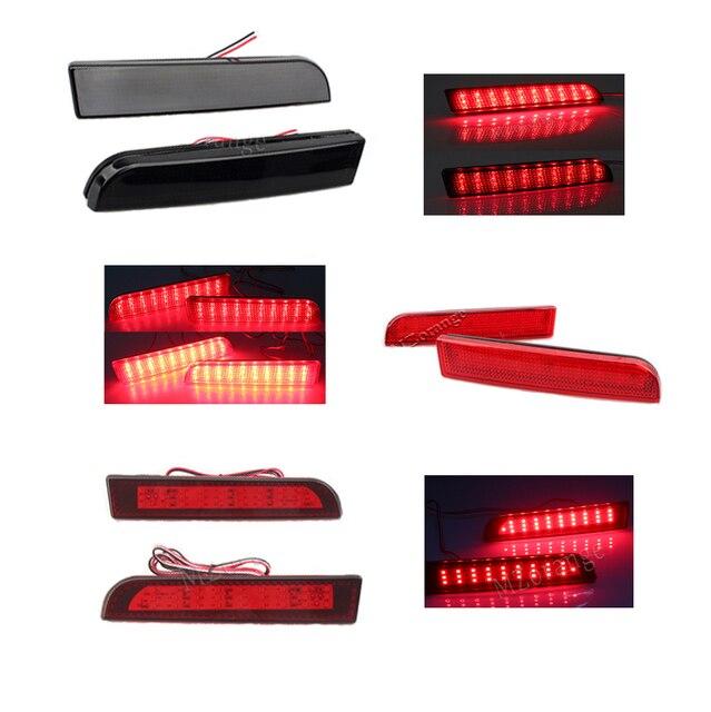 2pcs LED Rear Bumper Reflector Lights Tail Light for