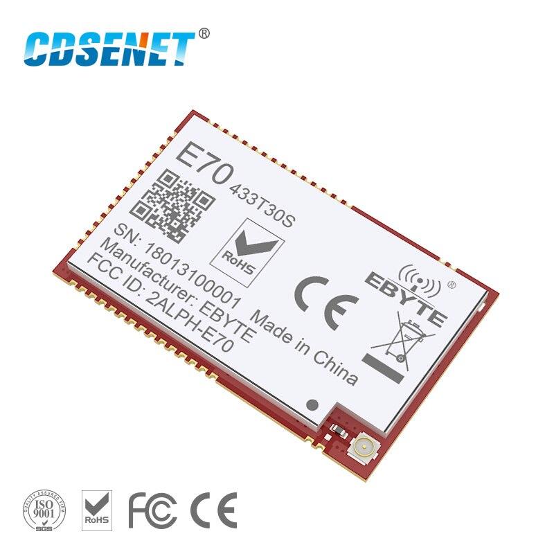 CC1310 433MHz SMD 1W Transmitter Wireless Rf Module CDSENET E70-433T30S UART Modbus Iot 433 Mhz Receiver