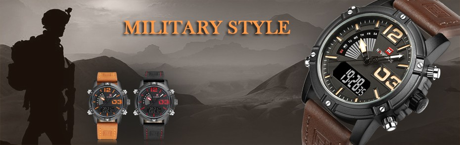 t3  High Model Luxurious NAVIFORCE Males Sports activities Watches Males's Military Navy Leather-based Quartz Watch Male Waterproof Clock Relogio Masculino HTB1hpX6cxrI8KJjy0Fpq6z5hVXa6