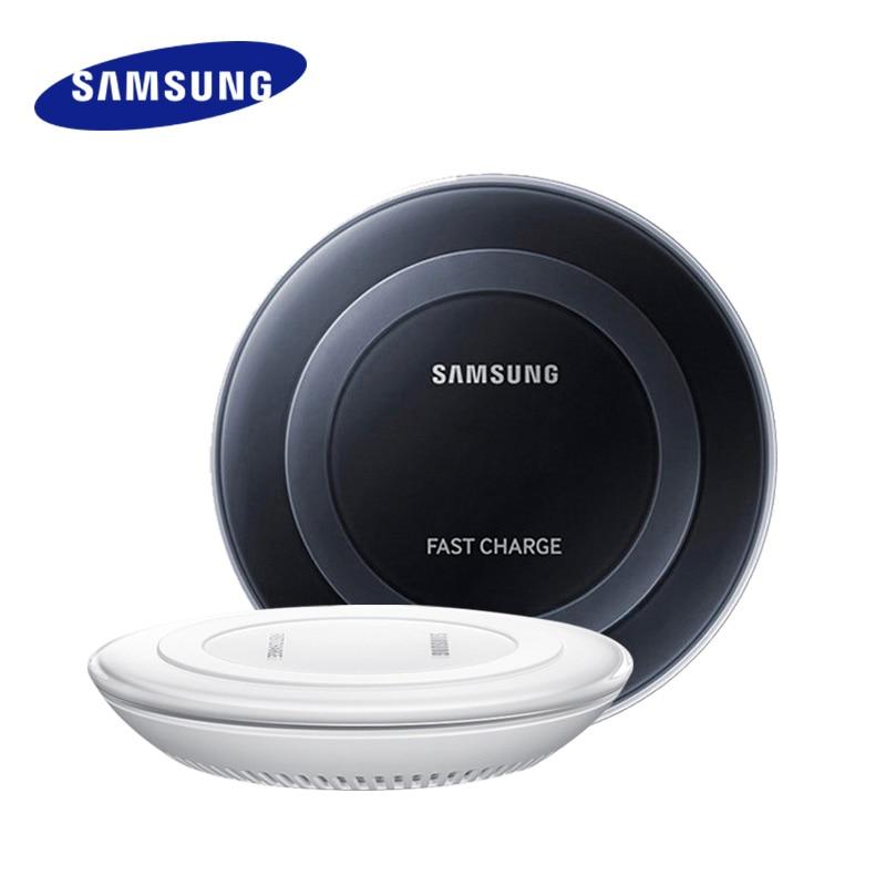 Chargeur sans fil Rapide D'origine Samsung GalaxyS9 S8 Plus S7 S6 Bord Note 8 5 Charge Rapide Chargeur Adaptateur de Support de Station D'accueil