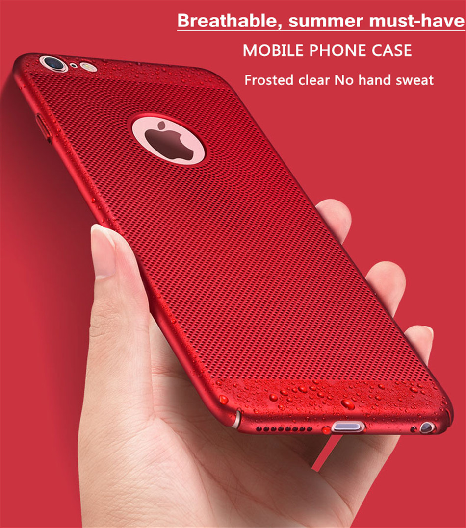 Heat dissipation iPhone Case - Hard Back PC Protect Shell 1
