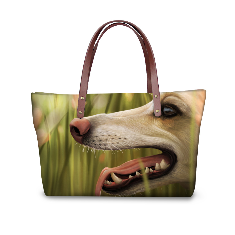 Funny Greyhound Women Handbags Ladies Tote Woman Bags Designer Cross-body Bags For Ladies Bolsa Feminina sac a min