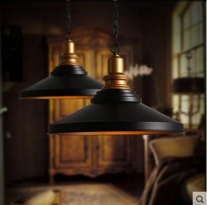 American Retro Loft Style Vintage Industrial Pendant Light