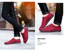 Мужская обувь Для мужчин; повседневная обувь дышащая обувь на шнуровке темно-синие красный парусиновая обувь на плоской подошве Для мужчин zapatillas hombre размеры 36–46 SSC401-417 C1