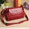 Nuevo estilo moda cuero genuino bolsos del mensajero famoso diseñador cesta de bolso de viaje para bolsos de mujer 2015