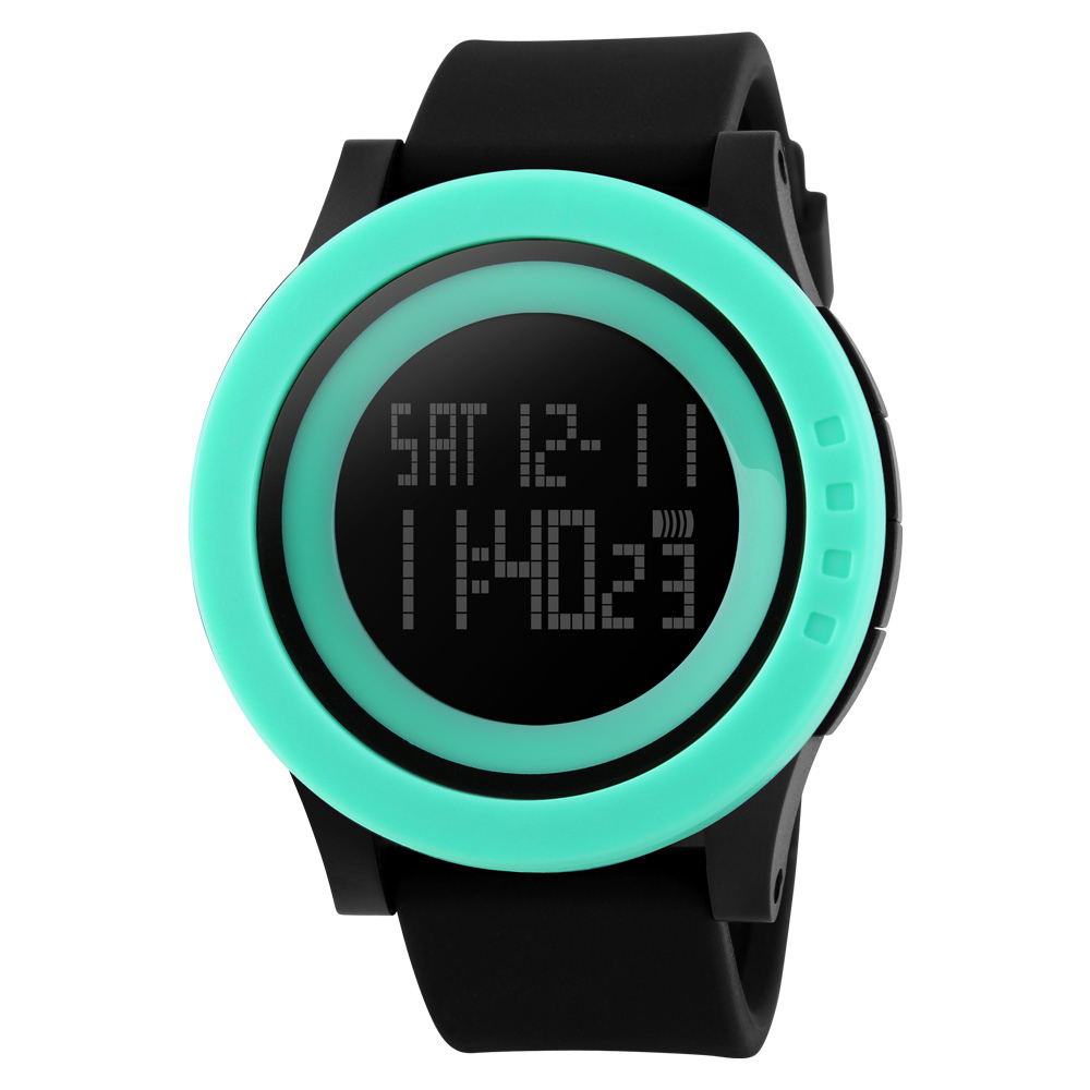 New <font><b>SKMEI</b></font> Sports Man Watch Men Military Fashion Silicone Waterproof LED Digital Watch For Men Clock Man Reloj hombre zk30 1142 image