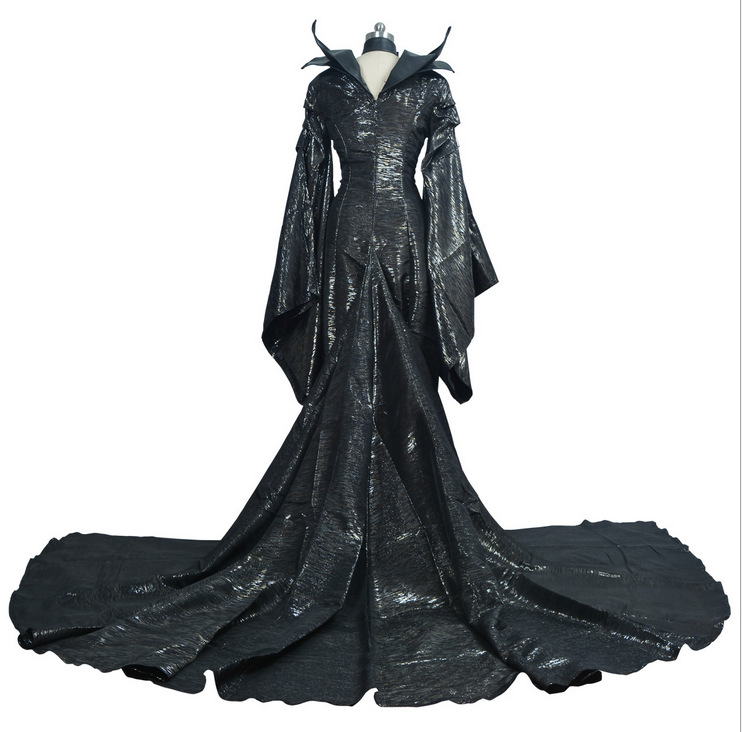 costumes for adult men women Maleficent dress maleficent costume adult sexy dress Custom made Maleficent cosplay suit