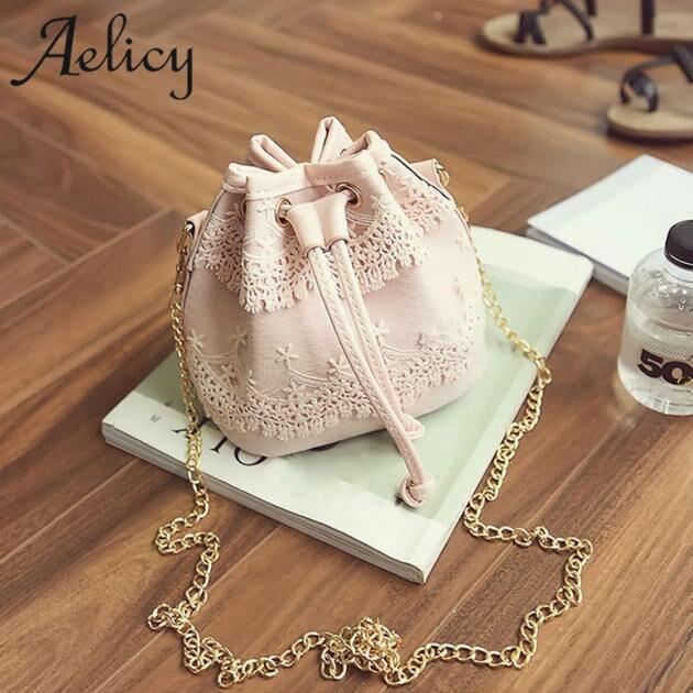 Aelicy Luxury Handbags Women Bags Designer Messenger Bags Lace PU Leather Handbag Shoulder Bags Satchel CrossBody Bag Bolsas 1
