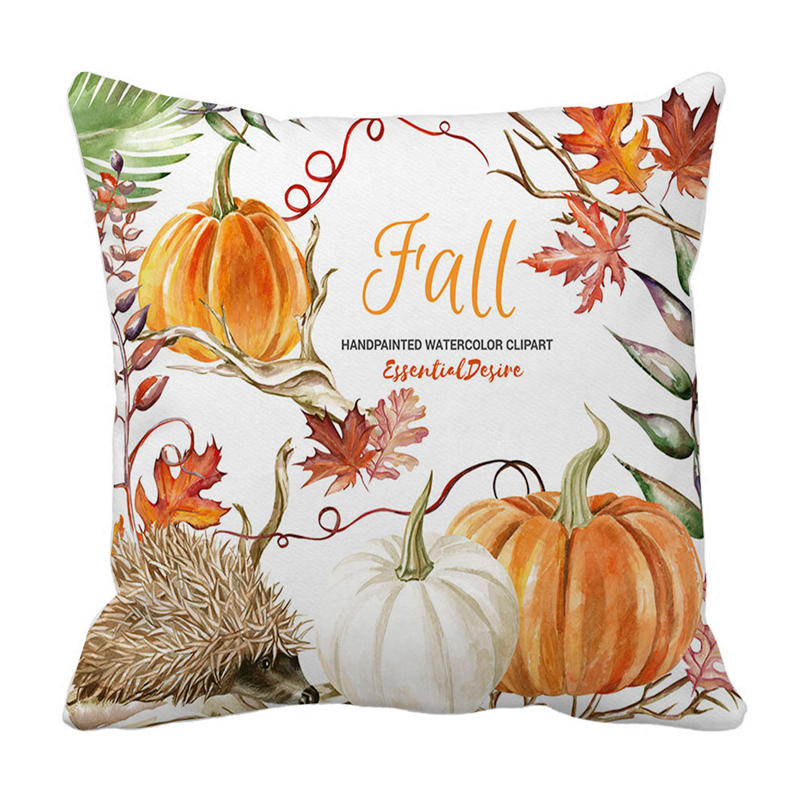 Halloween Pillows Cover Decor Pillow Case Sofa Waist Throw Cushion Cover 8.21