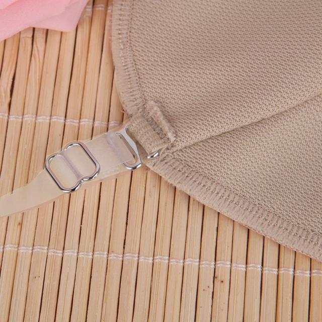 2 Pcs Underarm Sweat Shield Pad washable Armpit Sweat Absorbing Guards Shoulder Strap Skin Color