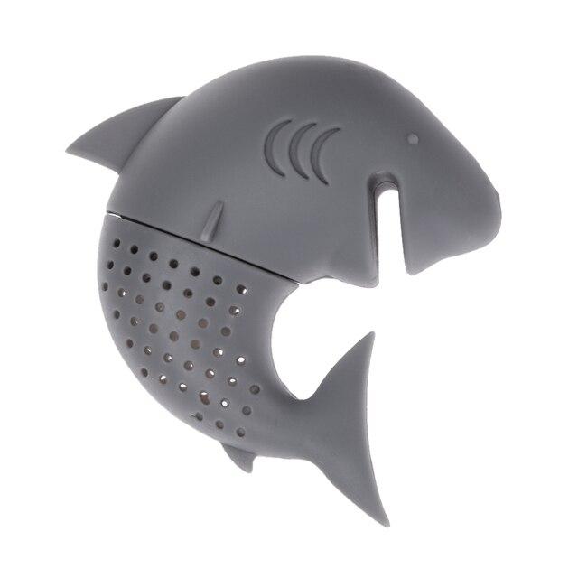Shark Shaped Silicone Tea Strainer