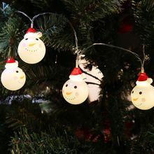 1 5 м 3 м снеговик светодиодные фея гирлянды санта светодиод свет рождества домашний сад крытый
