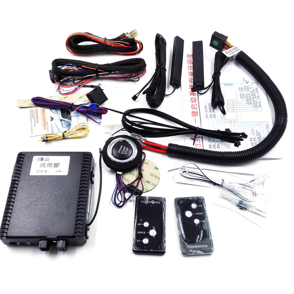 Smart key keyless entry system with engine start stop pke for Keyless entry system