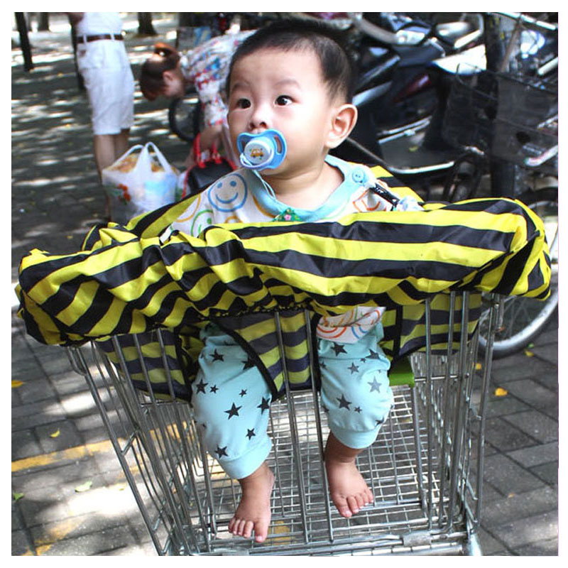 Multifunctional Baby Shopping Cart Cover Safety Seat Soft Cushion Dirty Shield P