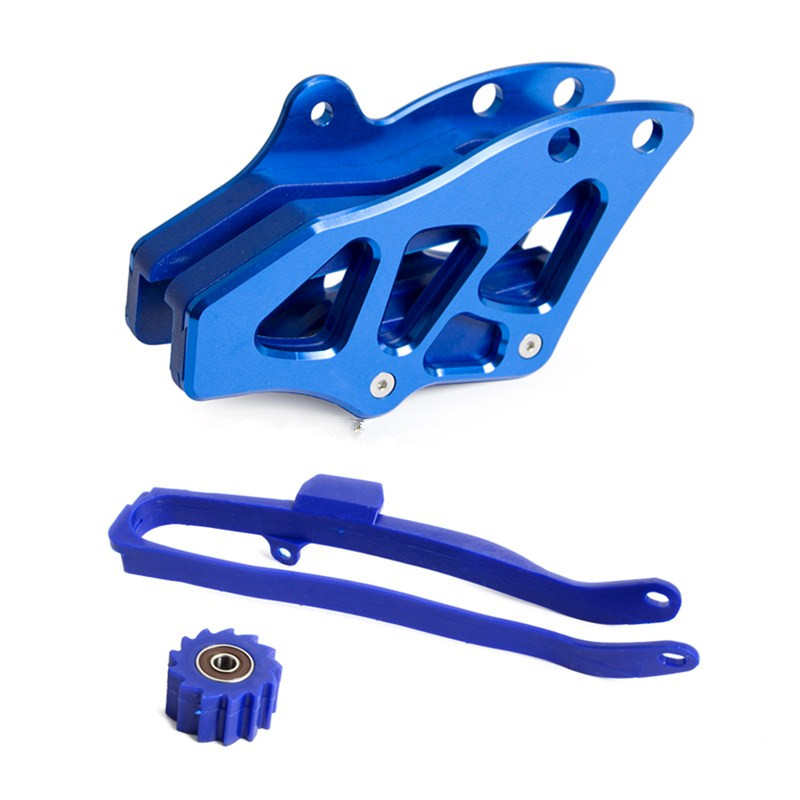 NICECNC CNC Chain Guide Guard Chain Slider Swingarm Guider Lower Roller For Yamaha YZ250F YZ250FX YZ450F