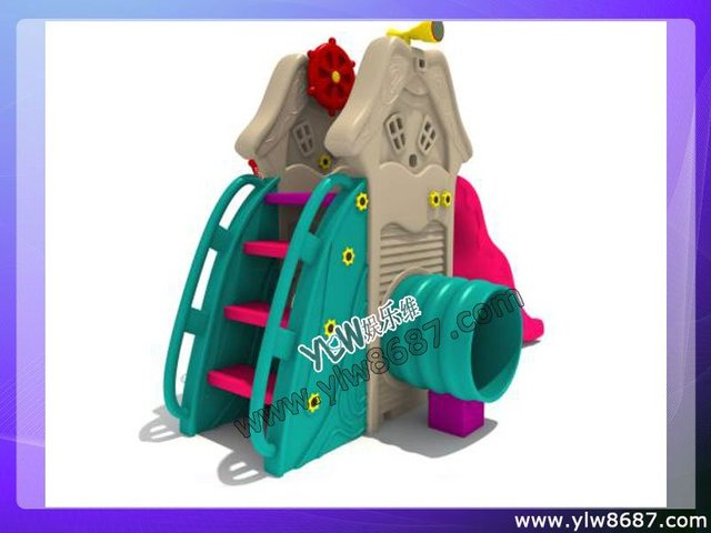 kids indoor plastic slide home playground-in Slides from Sports ...