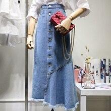 7e3b233a5 Compra long skirt jeans girls y disfruta del envío gratuito en ...
