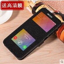Для Xiaomi Redmi Note 4×4 x Case Window мобильного телефона Чехол кобура для 5.5 «сотовом телефоне Бесплатная доставка