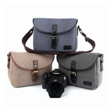 New Waterproof Camera Bag Photography Package DSLR Shoulder Case for Sony Nikon Canon Canvas Micro Single Messenger Men Women professional national geographic dslr canvas camera bag travel photo bag single shoulder for sony canon nikon