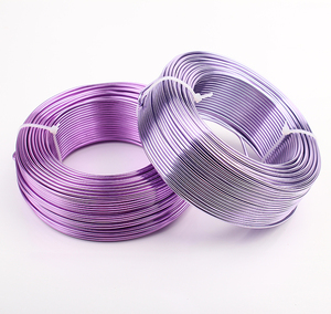Image 4 - Bobina de alambre suave para manualidades, aluminio de colores, 55m, 180 pies, 60 yardas, 2mm, calibre 12, alambre para suministros de joyería, envío gratis