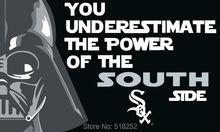 Chicago White Sox Star Wars Flag 150X90CM MLB 3×5 FT Banner 100D Polyester Custom flag grommets 6038,free shipping