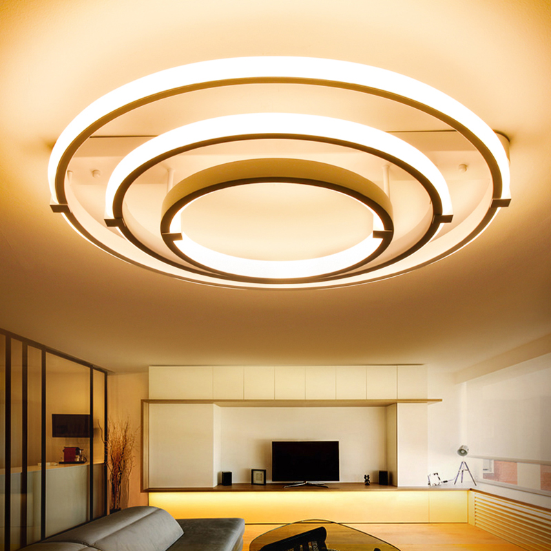 Acrylic Modern led ceiling lights for living room bedroom home Lighting ceiling lamp home lighting light fixtures