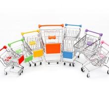 Toys Trolley-Toy Storage-Basket Handcart Shopping-Cart-Storage Supermarket Mini Kids