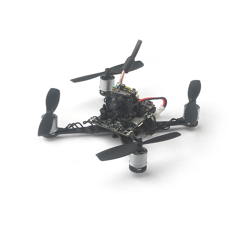 Happymodel Trainer90 0706 1S فرش FPV Quadcopter PNP كيت w/Frsky DSM 2/X استقبال الانصهار X3 الطيران التحكم 600tvl كاميرا-في قطع غيار وملحقات من الألعاب والهوايات على  مجموعة 1