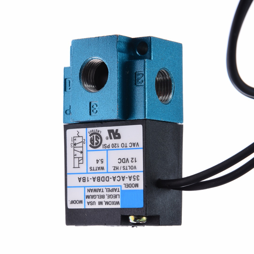 Top Quality 12v 3 Port Electronic Boost Control Solenoid Valve 35A-ACA-DDBA-1BA 4.5w Black & Blue Mayitr New mac 3 port electronic boost control solenoid valve dc24v 12 7w 35a aaa ddfa 1ba clsf