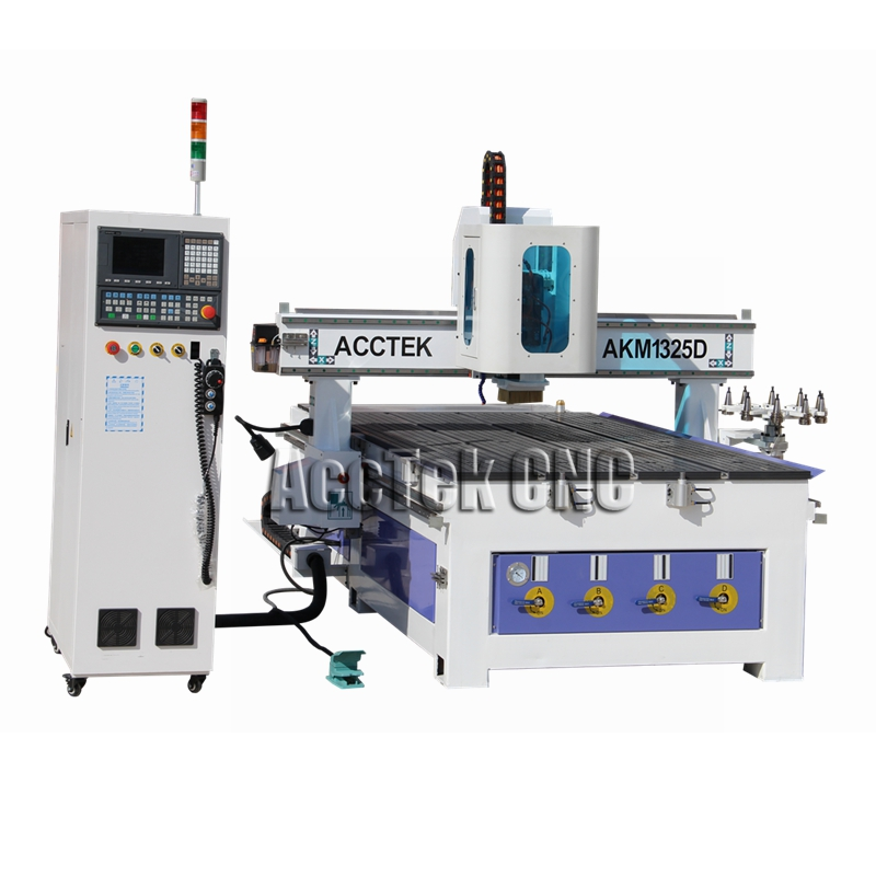 Auto Tools Cnanger Cnc Router With NK260 Controller/ Atc Woodworking Cnc Router Machine 12 Tools For Furniture Industry