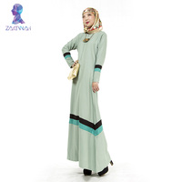 702 pink color kaftan dubai jilbab turkish dresses long sleeve muslim evening dress abaya