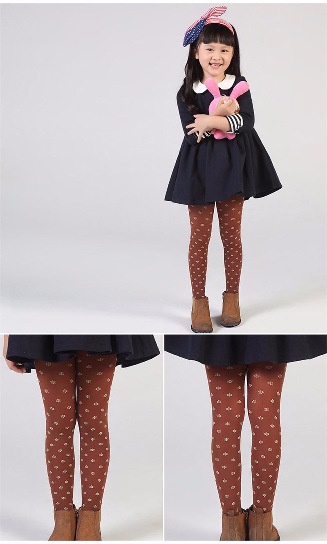 Warm Children Girls Pantyhose  (6)