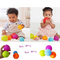 4pcs Textured Multi Ball Set develop baby's tactile senses toy Baby touch hand ball toys baby training ball Massage soft ball