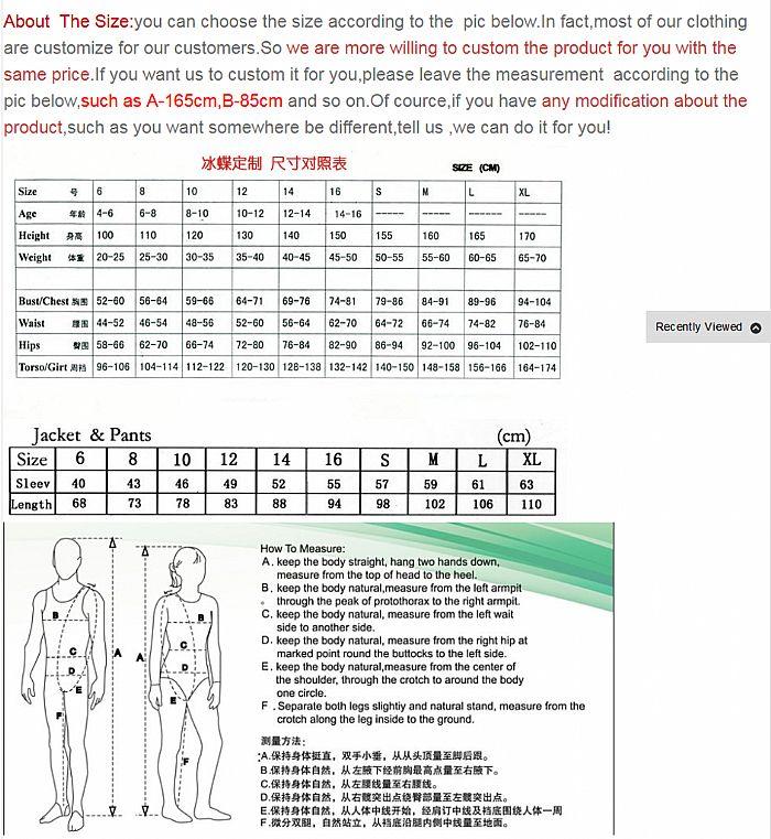 női korcsolyázás nadrág ingyenes szállítás műkorcsolya - Sportruházat és sportolási kiegészítők - Fénykép 3