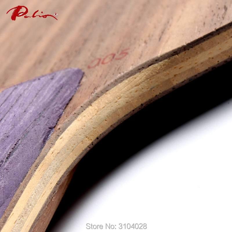 Palio resmi way005 cara 005 blade tenis meja kayu murni untuk 40 + - Olahraga raket - Foto 5