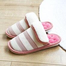 House slippers women Suede Velvet Keep warm Indoor shoes for girls Non slip Wear resistant Winter Soft Fur slippers women