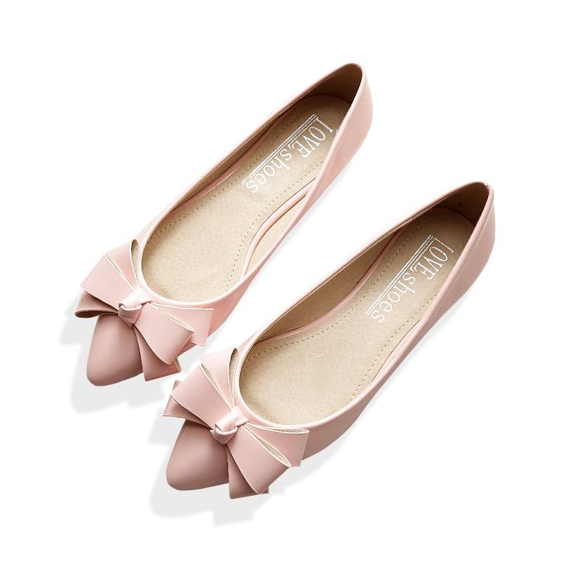 Plus Size font b Women b font Flats Comfortable Soft Ballet Flats Silver Gold font b