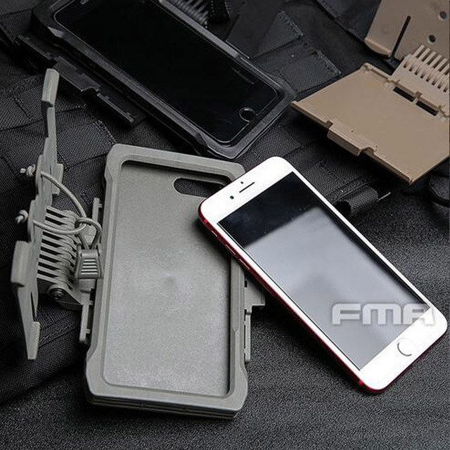 buy popular c85f4 f8eab US $24.19 20% OFF|Aliexpress.com : Buy 2019 NEW FMA IPHONE 7/8 Plus mobile  pouch TB1320 for Molle Vest System Chest Mounted Mobile Phone Case from ...