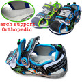 Super Quality1pair PU Boy Children Sandals Summer Shoes inner length 12.8-16cm,Kids/Children Sound Shoes
