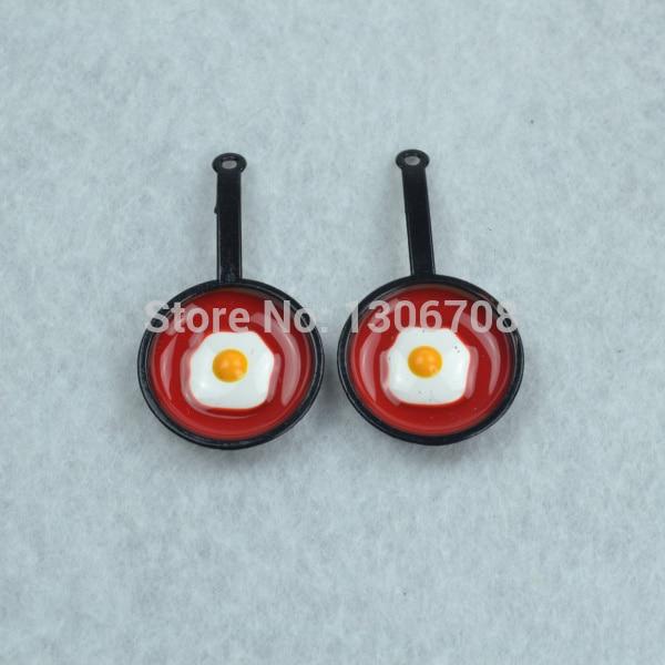 diy jewelry accessories 10pcs/lot metal Black K/ white K charms saucepan pendant fit making necklace Z42324